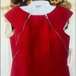 🍁Host Pick 🍁NWT Gorgeous Red Sleeveless Dress